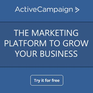 Try Active Campaign free for 14 days