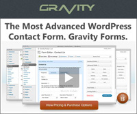 Check out the WP Gravity Forms plugin