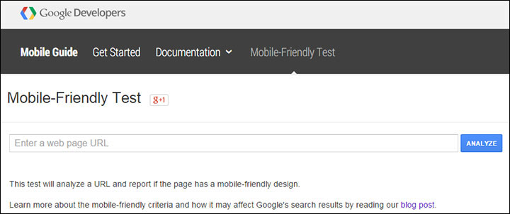 You can use Googles mobile-friendly test tool to see if the pages on your photography website pass the criteria defined by Google.