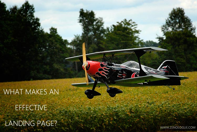 Photography Facebook ads: What makes for an effective landing page?