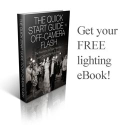Get your free quick start guide to off camera flash