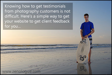 Knowing how to get testimonials is not difficult. Here is a simple way to get your website to get the client feedback you need.