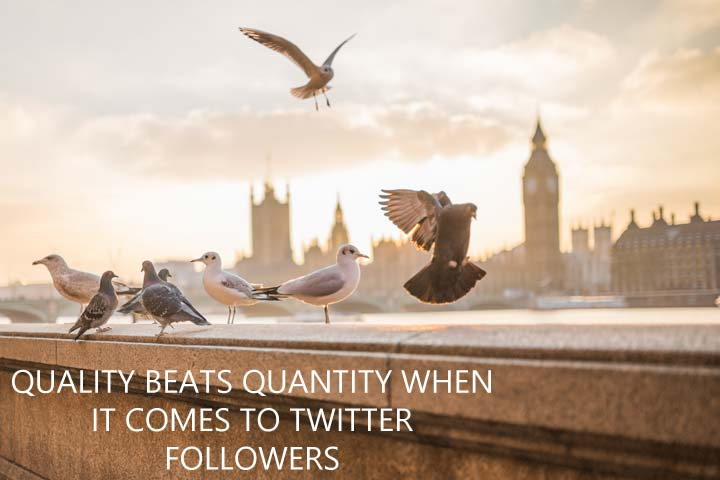 Quality beats quantity in your Twitter marketing when it comes to your followers...